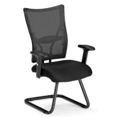 OFM Talisto Series Executive Mid-Back Fabric & Mesh Guest Chair