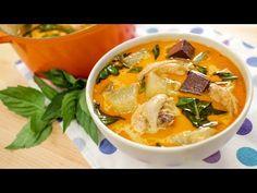 Light Chicken Curry w/ Winter Melon - แกงไก่ใส่ฟักเขียว Hot Thai Kitchen! - YouTube