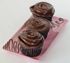 Once Upon A Chocolate Life: Chocolate Cupcakes with Chocolate Espresso Frosting