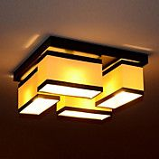 Flush Mount, 4 Light, Creative Concise Metal ... – USD $ 149.99