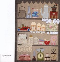Story Quilt 2 by Yukari Takahara - Japanese Quilting Patchwork Pattern Book.