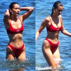 Bella in Malibu Gigi Hadid Body, Bella Gigi Hadid, Bella Hadid Outfits, Bella Hadid Style, Gigi Hadid Cuerpo, Kendall Jenner Body, Fendi, Bikini Bodies, Celebrity Pictures
