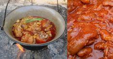 Csülkös körömpörkölt bográcsban - Az ellenállhatatlan magyar pörkölt - Finom ételek, olcsó receptek Rodin, Chicken Wings, Ale, Curry, Keto, Ethnic Recipes, Food, Red Peppers, Curries