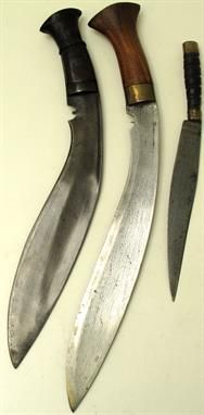 Lot 327 – WW1 Period Gurkha Kukri Knife – Military & Collectables 30 Apr 2014 http://www.candtauctions.co.uk/