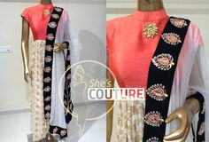 Designer Suit with Hand Embroidery Heavy Dupatta