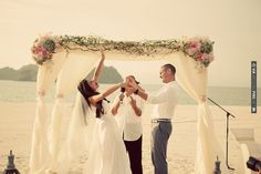 Complete and utter joy!     Destination wedding in Malaysia  photo by Ruby Yeo | CHECK OUT MORE IDEAS AT WEDDINGPINS.NET | #weddings #weddinginspiration #inspirational