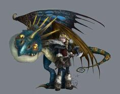 Astrid and Stormfly ^_^ ^.^ ♡ I give good credit to whoever made this