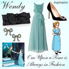 Disney Style: Wendy, created by trulygirlygirl on Polyvore