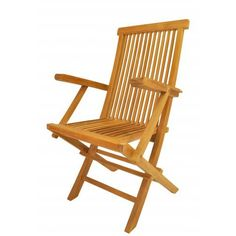 Classic Folding Armchair - (2 chairs). Our Classic folding armchair is a very sturdy, very versatile side chair, which is the perfect complement to our table. This chair is claimed to be the most convertibles chair of our product. Made from the finest solid teak, which is strong and durable; yet light enough to allow for easy storage. This is a beautiful and functional piece of furniture for your patio or terrace. It comes 2 chairs per order. Cushion is optional and is being made by...