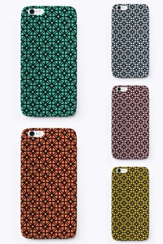 iPhone cases - Molecular Geometric Also available for Samsung Iphone Phone Cases, Design Art, Samsung