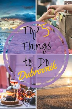 Locals and tourists in the know reveal the best things to do in Dubrovnik such as the best beaches, the best wine, where to explore in and outside of the city and more.