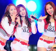 snsd Yuri, seo and Yoona <333 kehehe they look soo cute here! <33