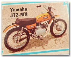 Yamaha Motocross Bike JT2 60 Mini Enduro JT2 MX JT2MX Collector Trading Card | eBay