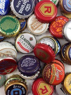 50 Assorted Beer Bottle Caps for your DIY by CityCraftSupplies, $20.00
