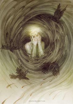 Artist Interview   Creepy Art Drawings   Fantasy Art