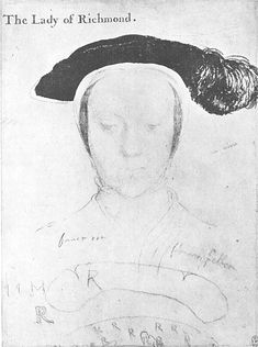 Beret (Hans Holbein: scetch of Mary Fitzroy)