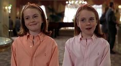 always thought lindsay lohan was a twin