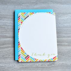 Multi Herringbone Personalized Christian Stationery Set by Abide Ink   Stationery For Women   Stationery For Men   Teen Stationery   Kid Stationery   Thank You Note Cards    Family Stationery   Blue Yellow Orange Red   Chevron Stationery   Teacher Appreciation   Note Card Set with Bible Verse Scripture