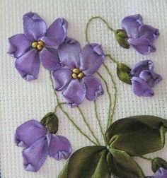 Ribbon Embroidery Flowers by Hand Magnificent - Si. - Ribbon Embroidery Flowers by Hand Magnificent – Silk Ribbon Embroid - Embroidery Designs, Ribbon Embroidery Tutorial, Silk Ribbon Embroidery, Crewel Embroidery, Vintage Embroidery, Embroidered Silk, Embroidery Patterns, Embroidery Thread, Embroidery Supplies
