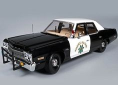 Blues Brothers style 1974 Dodge Monaco Police Car.