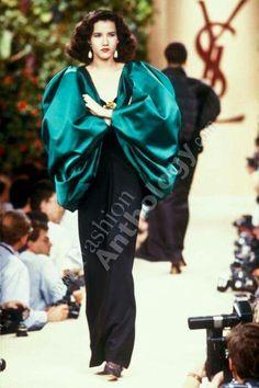 Yves Saint Laurent   Fall 1988