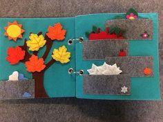 Free Shipping Quiet Book Children Book Felt Book