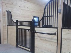 Low rise Kimberwick series horse stall from Classic Equine Equipment