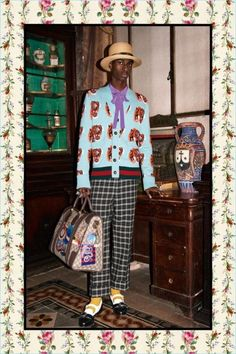 Gucci delivers more than a preview of the year to come with its pre-fall 2017 collection. A new lookbook unveils an eclectic range for the season. Gucci creative director, Alessandro Michele turns up the dial on prints and embellishments. Related: Gucci Takes a Roman Holiday for Spring Campaign Outerwear is a strong point of the... [Read More]