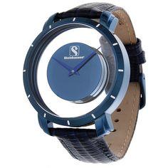 Steinhausen TW1201UUU Men's Watch Blue/Blue/Blue Atlantis Floating Swiss Quartz
