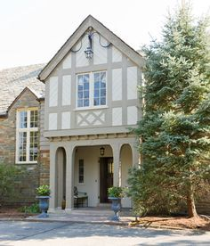 mock tudor rear elevation - Google Search