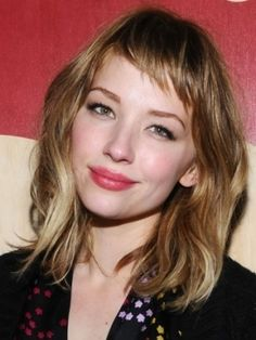 cute waves and short bangs