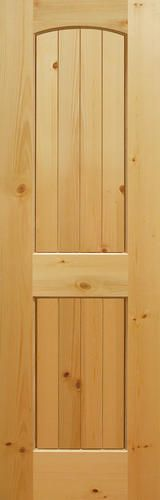 Knotty pine arches and prehung interior doors on pinterest for 12 inch interior door