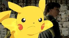 """""""John!"""" screamed Pikachu. Sherlock was shocked to hear Pikachu speak English. Mostly they talked in Pika. John still couldn't find the..."""
