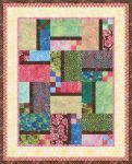 "Designed by Amanda Murphy, instructions written by Heidi Pridemore. Visit Amanda's blog <a href= javascript:void(0);/*1289367544356*/ >here</a>. Finished quilt measures 51"" x 63""."