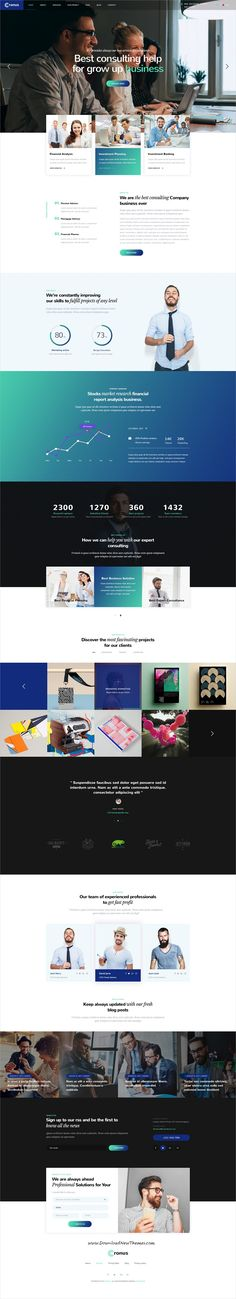Cronus is clean and modern design multipurpose PSD template for corporate and business #agency website with 10 niche homepage layouts and 71 layered PSD pages to live preview & download click on Visit #psdtemplates
