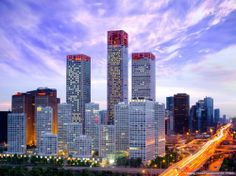 Beijing Yintai Centre - Park Tower, Beijing, China ; 250  m – 63 fl; completion  2008