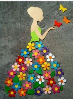 40 Easy DIY Spring Crafts Ideas for Kids - Crafts ideas 💡 Kids Crafts, Diy And Crafts, Craft Projects, Arts And Crafts, Paper Crafts, Craft Ideas, Diy Ideas, Kids Diy, Diy Paper