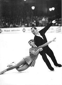 Belousova and Protopopov in 1968.  Former Russian pair skaters who represented the Soviet Union, two-time Olympic champions (1964, 1968) and four-time World champions (1965–1968). In 1979 the pair defected to Switzerland and became Swiss citizens in 1995. They continued to skate at ice shows and exhibitions through their seventies.
