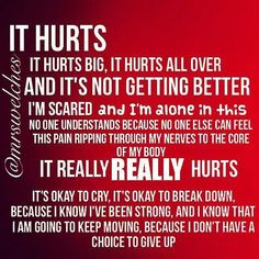 It's very painful and I have lived with chronic pain for years. This is a Different type of pain. It's simply the worst pain one could imagine but then I think I was just used to the other? Hope I get used to This....