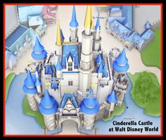 Want to make a Disney World Scrapbook? How to print these cool Disney World Google Maps for FREE!