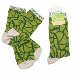c32a335be3b Whether you love them or loathe them get your fill of the mighty greens  with the Brussel Sprouts Socks for Men and Women.