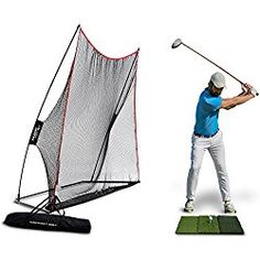 Best Golf Practice Net reviews. All you need to do is purchasing the best golf practice net that equips golf clubs, a golf mat, and golf net.