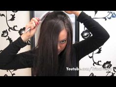 How To: Tease Your Hair... This one is good and actually works