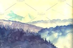 Artistic Watercolor Sketches - Illustrations