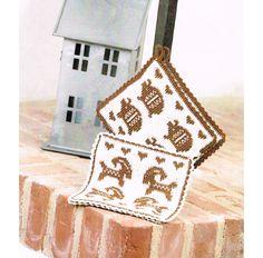 Stickade Grytlappar Dishcloth, Christmas Knitting, Potholders, Kitchen Stuff, Nice Things, Aprons, Needlework, Knitting Patterns, Knit Crochet