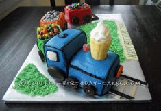 Coolest Homemade Train Cake  Birthday Cakes