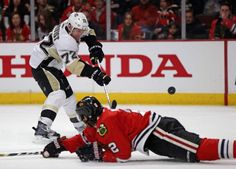 Feb. 15, 2015 — Blackhawks 2, Penguins 1, shootout (Getty Images)