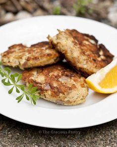 Clean Eating Tuna Patties, kids LOVED these. Adapted to what I had and only did 2 7oz cans with 2 eggs. Fried in coconut oil. So yummy.