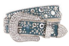 "If you wish to buy please click on amazon under this Pinterest Pin.Snap On 40mm Western Rhinestone Rivet Studs Leather Belt Size: M/L - 35"" Color: Aqua beltiscool, http://www.amazon.com/gp/product/B0040N7KEC?ie=UTF8=213733=393185=B0040N7KEC=shr=abacusonlines-20&=apparel=1361158900=1-27=rhinestone+belts"