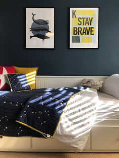 One of my most recent projects has been to help a friend transform her boy's bedroom. Come take a look at how different his room now looks. Preteen Boys Bedroom, Teen Boy Rooms, Big Boy Bedrooms, Boys Bedroom Decor, Teenage Bedrooms, Kids Rooms, Bedroom Ideas, Dark Blue Bedrooms, Kids Room Design